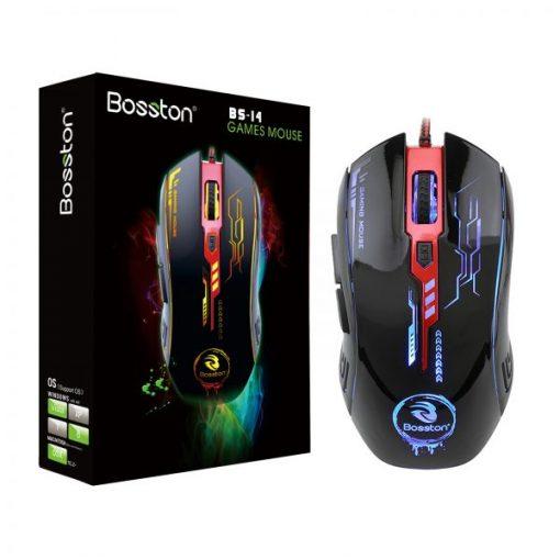 Chuột Bosston BS14 Led là lựa chọn hàng đầu cho những game thủ