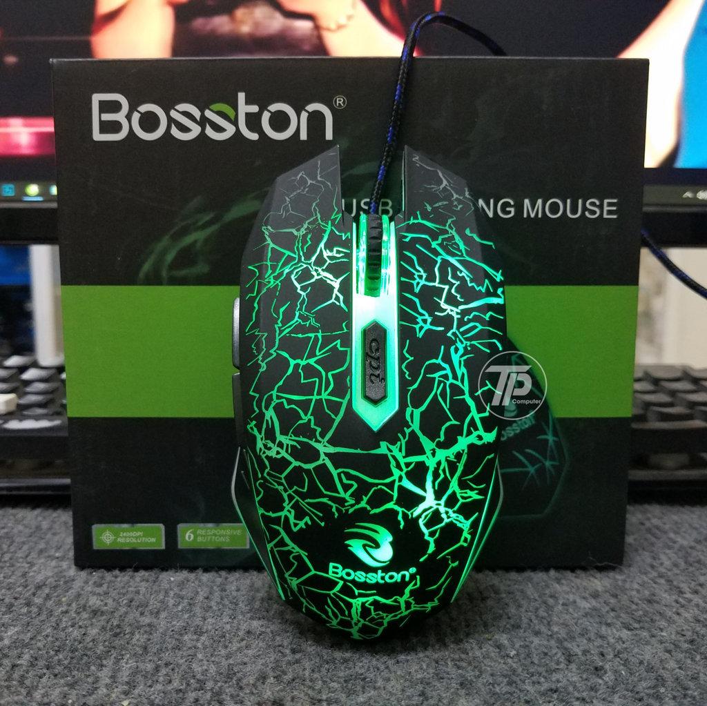 Chuột bosston R30A kiểu dáng Gaming