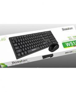 Bộ đôi chuột bàn phím không dây BOSSTON WS100 tại Hà Thành