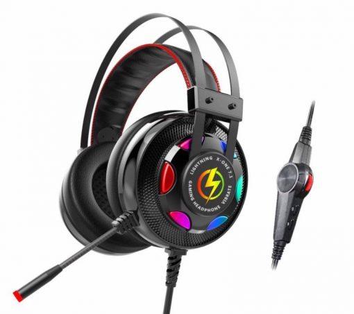 Tai nghe lightning X-one 7.1 rất phù hợp sử dụng cho các phòng game VIP